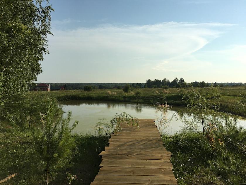 Наше озеро в караськово